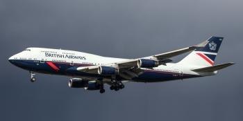 Boeing Landor-schemed 747-400 G-BNLY