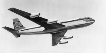 Braniff Boeing 707