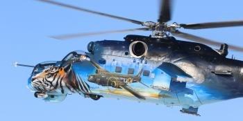 New scheme for Czech Mi-35 Hind