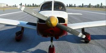 Just Flight PA-28-161 Warrior II for Microsoft Flight Simulator in development
