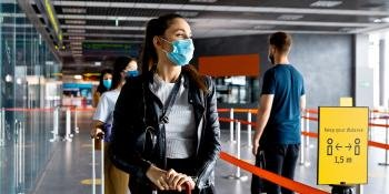Manage health data to reduc airport queues