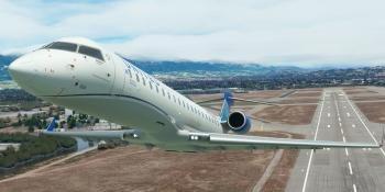 Aerosoft's CRJ 550/700