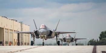 F-35 at Falcon Strike