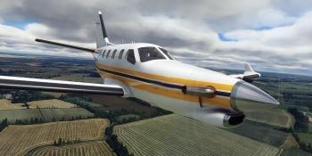 Microsoft Flight Simulator Update 4 1280x751