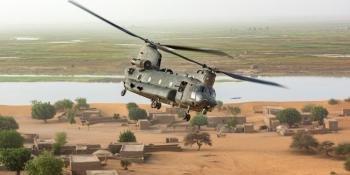 UK CH-47 in Mali