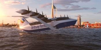 Could this electric 'sea-glider' spell the end of the ferry?