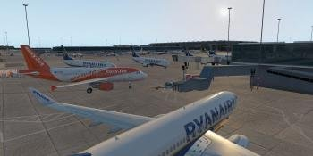 Boundless Simulations' Stansted Airport (EGSS)