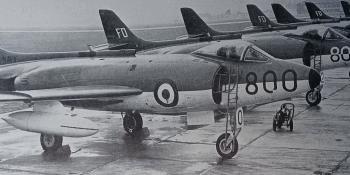Scimitars from X Flight of No. 700 Squadron.