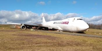 Boeing 747 overrun
