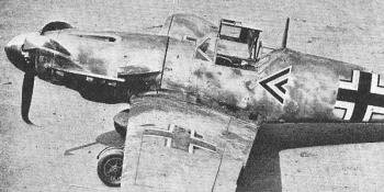 Amazing Access in 1941 to a New Variant of Me 109