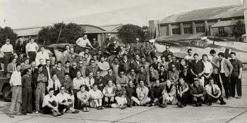 Behind the scenes on the Battle of Britain film