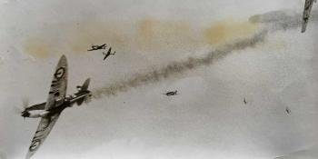 How they filmed the Battle of Britain dogfights