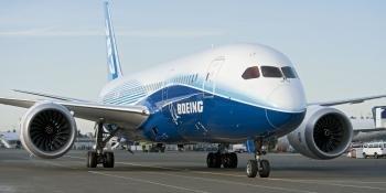 Boeing 787 on ground