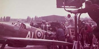 """""""Michael Caine wanted to know what it was like to be an RAF pilot"""""""