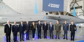 Delivery of first Rafale to Greece