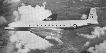 An RAF Comet of 216 Squadron.