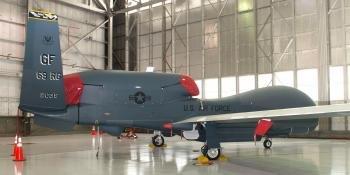 Grand Forks RQ-4B Block 40 Global Hawk
