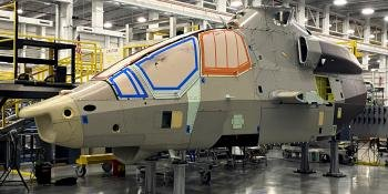 Bell 360 Invictus under assembly