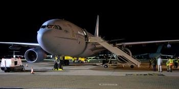 RAF Voyager return from Afghanistan