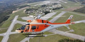 First TH-73A delivered to USN
