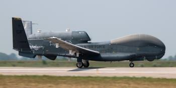 Last EQ-4B flight Grand Forks