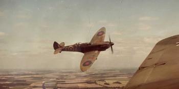 Filming Battle of Britain