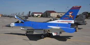 South Dakota ANF F-16 Special Scheme