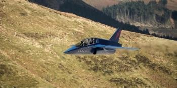 CGI of the potential Advanced Jet Trainer