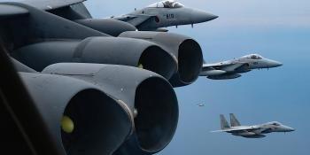 USAF B-52H engines