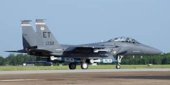 F-15E completes first successful Maritime JDAM test