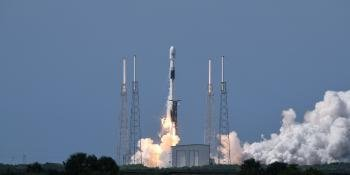 Launch of a GPS III satellite in 2020