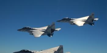 Image of three F-15QA aircraft