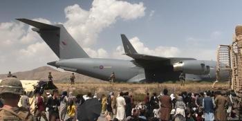 RAF C-17A Kabul
