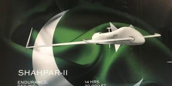 Marketing imagery of the Shahpar-II at IDET 2021