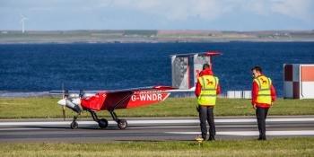 Windracers at Kirkwall Airport