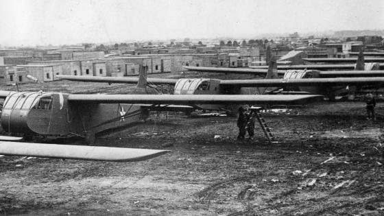 WACO Hadrian gliders ready for D-Day