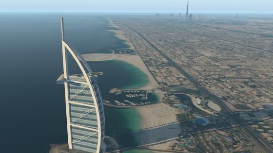 Dubai for X-Plane