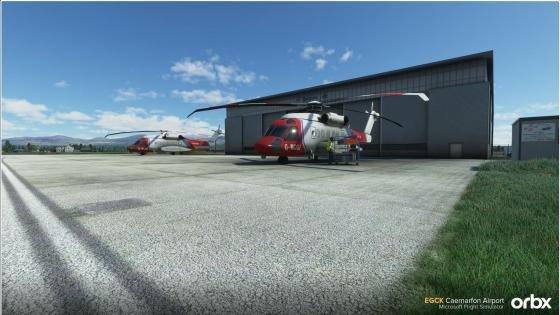 Orbx Caernarfon Airport for Microsoft Flight Simulator