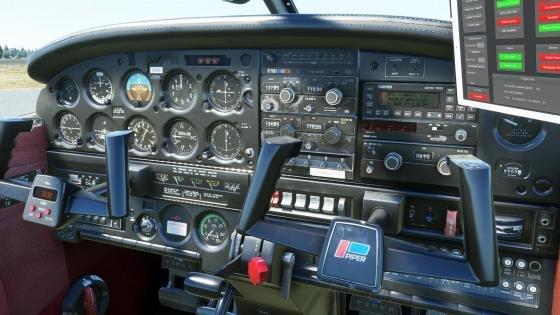 Just Flight PA-28-161 Warrior II for Microsoft Flight Simulator is in development