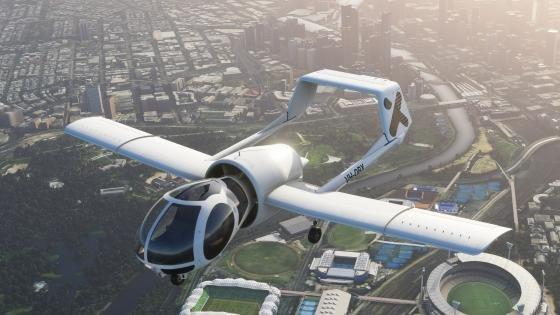 THE SPECTACULAR OPTICA AIRCRAFT