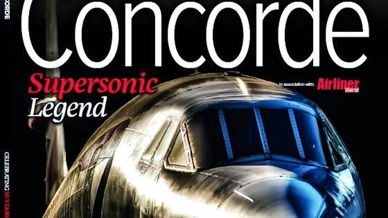 Concorde 50th anniversary bookazine